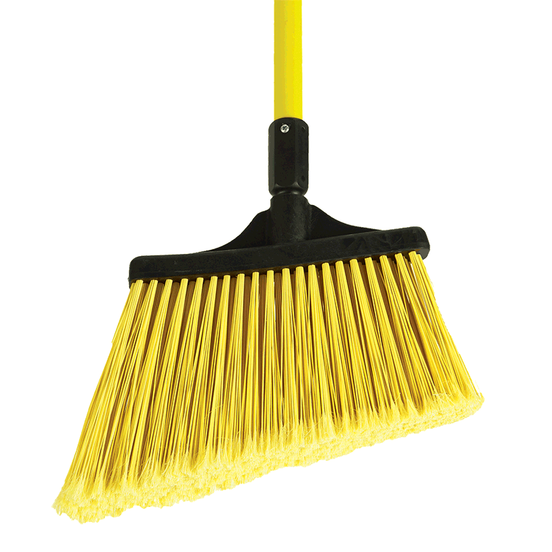 MaxiSweep® Angle Broom With Fiberglass Handle
