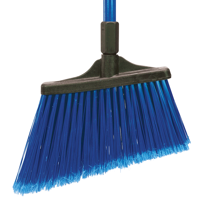 MaxiSweep™ Angle Broom, Blue - Flagged