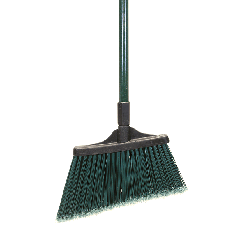 MaxiSweep™ Angle Broom, Green - Unflagged